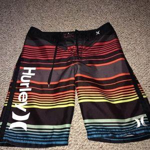 boys hurley swim shorts